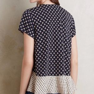 Anthropologie Tops - Anthropologie Patterned Blouse